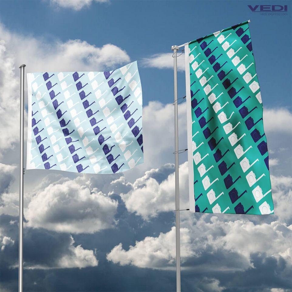 Attirer les prospects avec un drapeau sur mesure