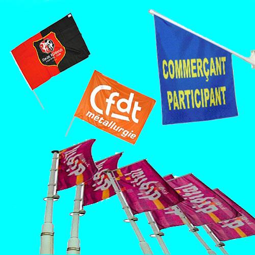 Harmonisez la couleur de votre entreprise avec les mini drapeaux personnalisés
