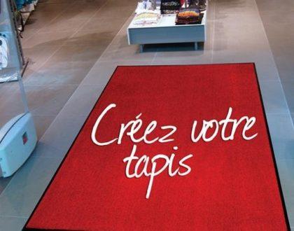 Le tapis personnalisé de Franprint