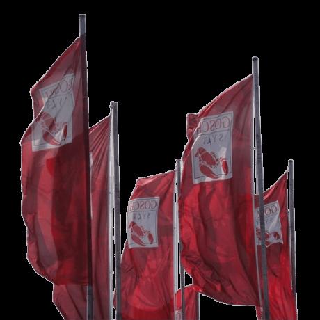 Diffusez efficacement vos messages avec le drapeau publicitaire