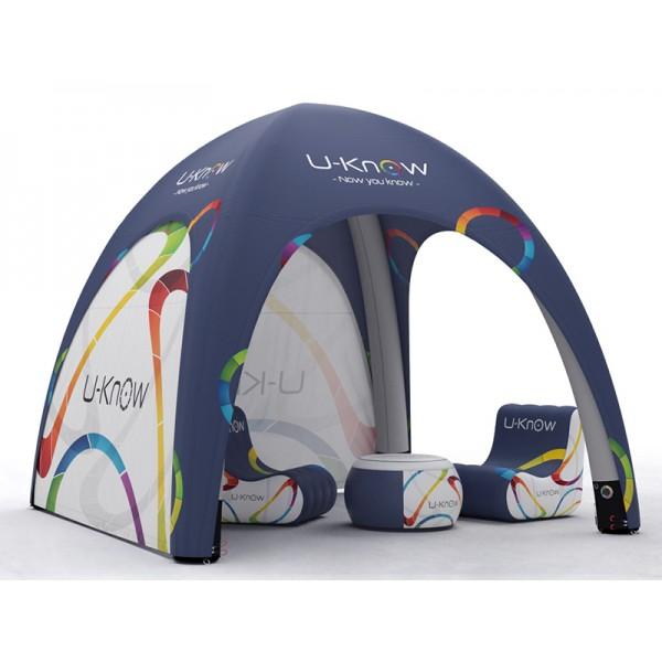 Pourquoi choisir la tente gonflable publicitaire sur mesure?
