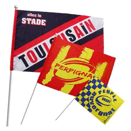 Comment le drapeau supporter peut-il optimiser votre visibilité?