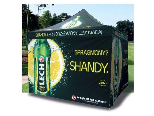 Misez sur la tente publicitaire personnalisée pour développer votre marque