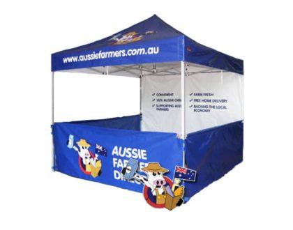 La tente publicitaire, un outil marketing moderne