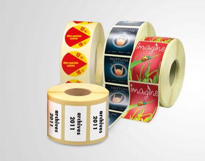 Étiquettes adhésives et personnalisées: outil marketing à multiples atouts
