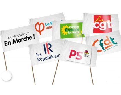 Le mini drapeau personnalisé: Outil commercial de référence
