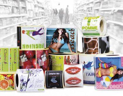Etiquettes adhésives personnalisées : support de communication