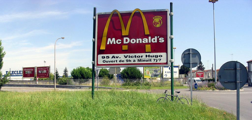 Impression de panneaux publicitaires
